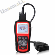 100% Original Autel AutoLink AL619 OBDII CAN ABS And SRS Scan Tool OBD2 Code Scanner Autel AL619 DHL Free Shipping(China (Mainland))