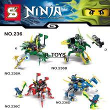 Lastest Ninjagoes building block Ninja Kai Jay Morro mech robot assemblage bricks Cole Bansa Wu minifigures compatible withlegos - JL TOYS store