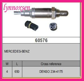 Merceddes-Benz CL 500 E420 ML 55 AMG S420 S500 SL500 Oxygen sensor Denso lambda sensor o2 sensors Sonde lambda Denso 234-4175(China (Mainland))