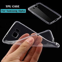 Ultra Thin Slim 0.3mm Clear Transparent Soft TPU Case For Samsung Galaxy Alpha G850 G850F G8508S Cell Phone Back Cover Case
