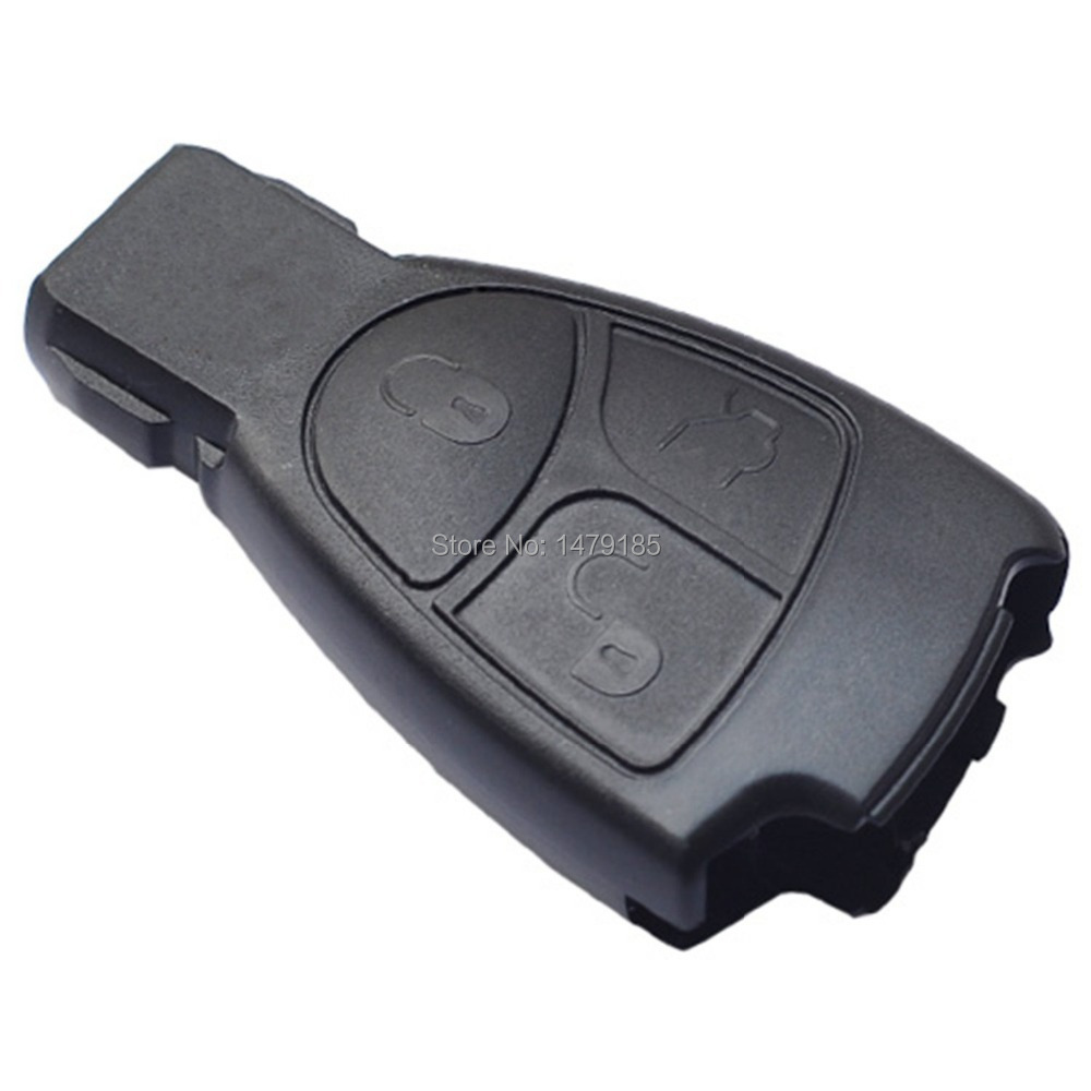 No chip car key fob case shell remote for mercedes benz for Mercedes benz keys replacement cost