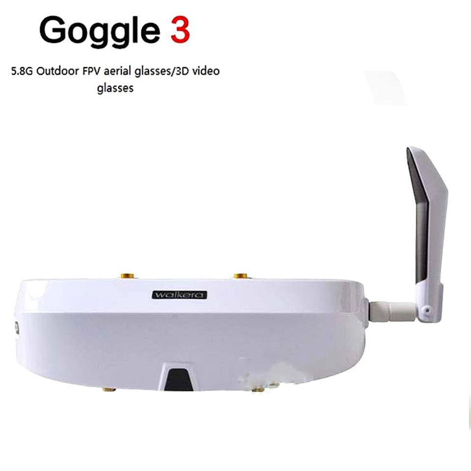 2015 Walkera Goggle 3 FPV 5.8G 32CH 360 3D Video Eyewear Glasses Goggles HDMI 800x600 SVGA Free Shipping<br>