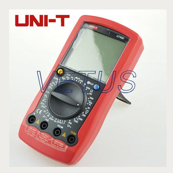 2 pcs /1 lot, Fast shipping of DHL EMS Fedex UNI-T UT58E Modern Digital Multimeter<br><br>Aliexpress