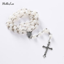 Buy 80cm 61Beads Pray necklace Factory sell Brand necklaces Pray rosary religious beads jewelry necklace Jesus jewelry Rosary for $1.42 in AliExpress store