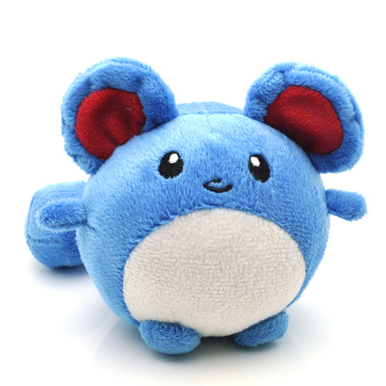 30pcs/lot Pokemon Marill Plush Toy Cute 11cm Pocket Monster Game Character Soft Stuffed Animals Toys Doll for Children Gift<br><br>Aliexpress