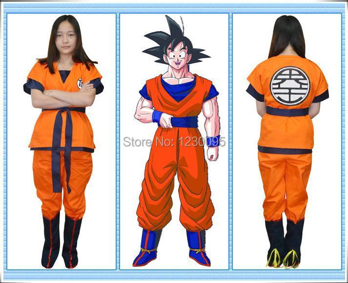 Dragon Ball z Halloween Costumes For Adults Dragon Ball z Goku Adult Kids