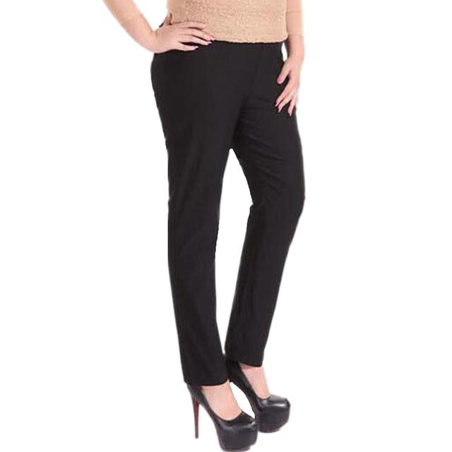 Бесплатная доставка женщины брюки Новые Плюс Размер одежды брюки карандаш брюки упругой ...