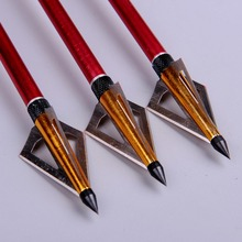 Top Quality 12pcs lot 125 Grain Hunting Crossbow Arrow Broadhead used As Archery Bow And Arrow
