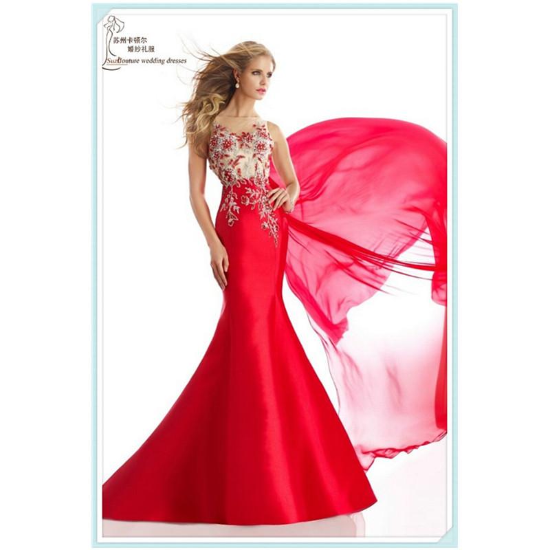 Elegant Red Prom Dresses - Plus Size Prom Dresses