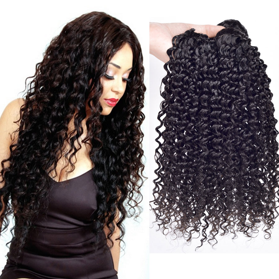Queen Hair Grade 4A Pretty Brazilian deep wave ,3pcs/lot Brazilian human hair weave deep wave cheap brazilian hair Free shipping