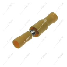 20839 1X Yellow Bullet Butt 16~14AWG Wire Crimp Terminals electrical wire connectors male/female insulating joint combo(China (Mainland))