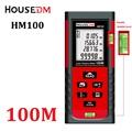 HOUSEDM Digital laser measure rangefinder distance meter 100m 328ft W Pythagorean Area Volume laser Tape Measure