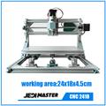 CNC 2418 GRBL DIY CNC machine work area 24x18x4 5cm 3 Axis Pcb Milling cnc Machine