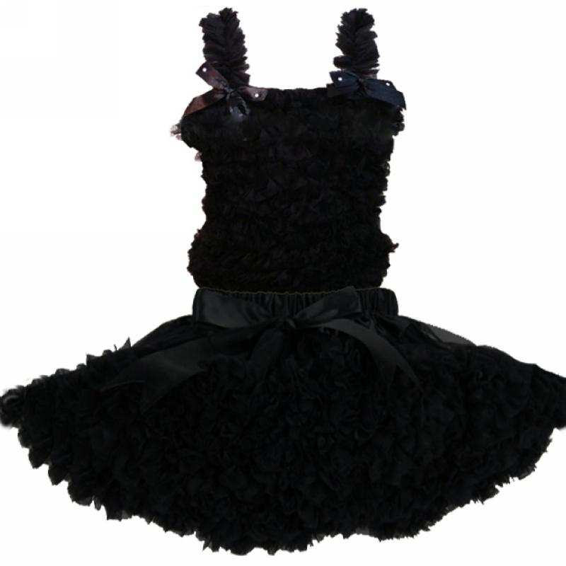 Free shipping solid color chiffon top + skirt set,baby Dress, pettiskirt, baby vest and skirt, Girls Tutu Skirt<br><br>Aliexpress