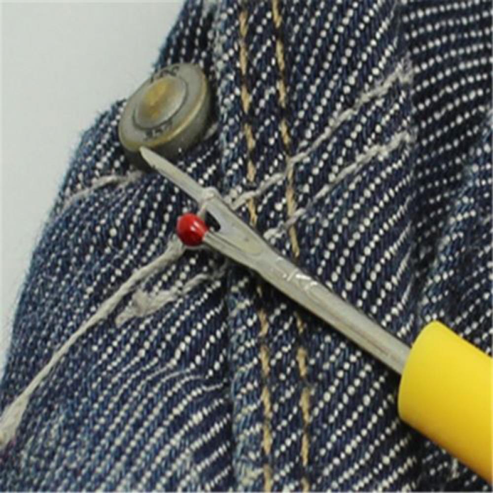 4Pcs Plastic Handle Craft Thread Cutter Seam Ripper Stitch Unpicker Sewing Tools