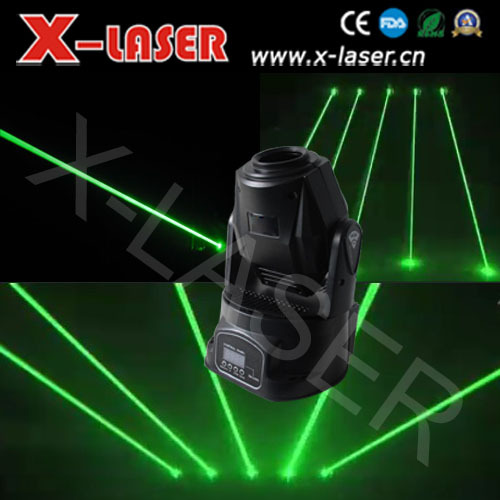 150MW DMX Fat Green beam moving head laser(China (Mainland))