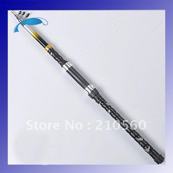 No.1 Quality&service wholesale high quality glass 2.1/2.4/2.7m 4-5 segments fishing rod fishing tackle