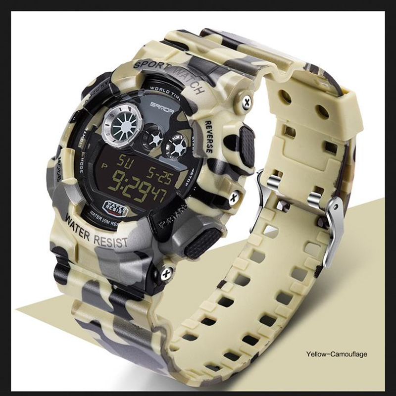 Hot sale shock waterproof dive original sports watches men luxury brand watch g style resistant silicone