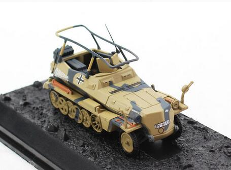 Amer 1:72 World War II German sd.kfz.250 alloy armored command vehicle model Favorite Model(China (Mainland))