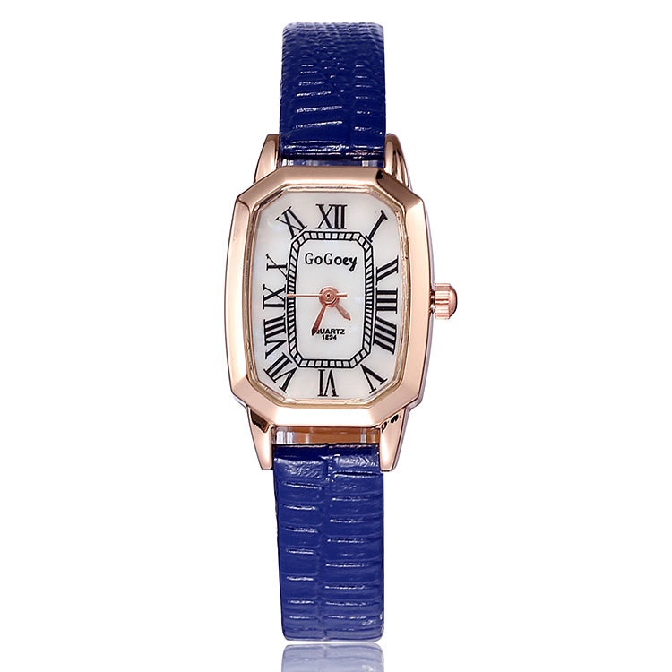 gogoey brand watches rome style gold
