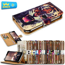 Phone Leather Case For Cubot X15 / Cubot H1/ kingzone Z1 /VKWORLD VK700 , Girl Minions Printed Stand Universal Case Large size