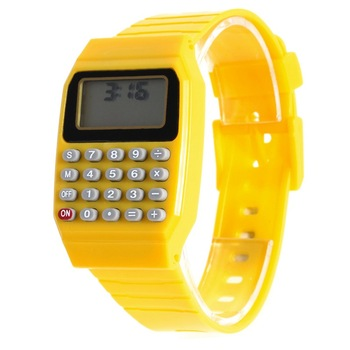 Fashion LED Digital Watch 2016 Silicone Casual Children Kids Sports watch Multifunction Calculator wristwatch Relogio Clock