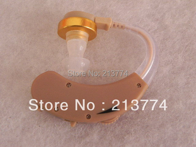 Free shipping 2pcs/lot hot sale F-138 ITE hearing aid Sound Amplifier Voice enhancement Deaf hearing device