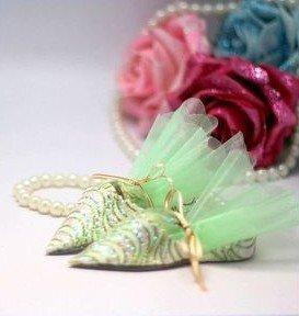 GAGA ! Free shipping 200pcs/lot fashion style candy box gift box wedding favor box TS-600(green)