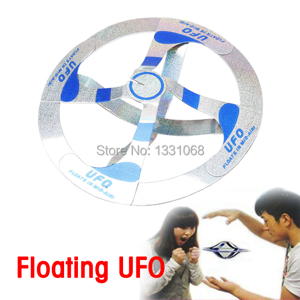 Children Magic Toy Mystery Floating UFO Flying Saucer J3G#(China (Mainland))