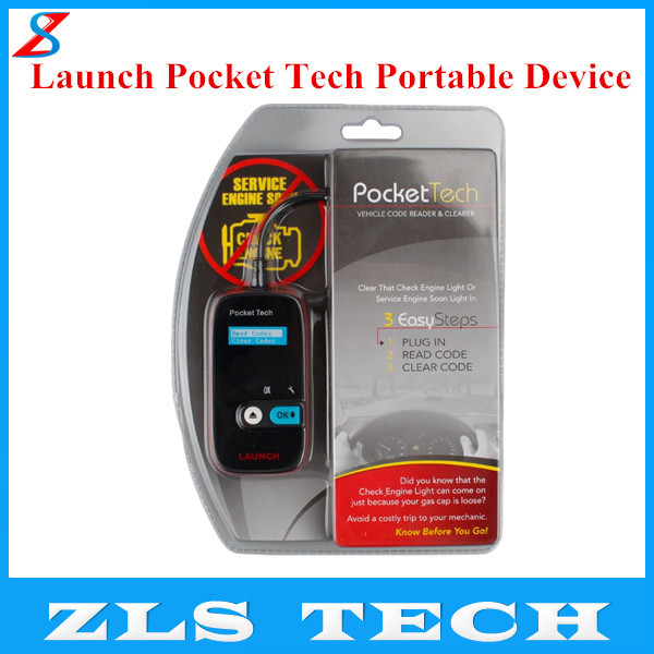 Original Launch X431 Pocket Tech Portable Device Launch Pocket Tech Code Reader Pocket Tech Portable Device with Free Shipping(China (Mainland))