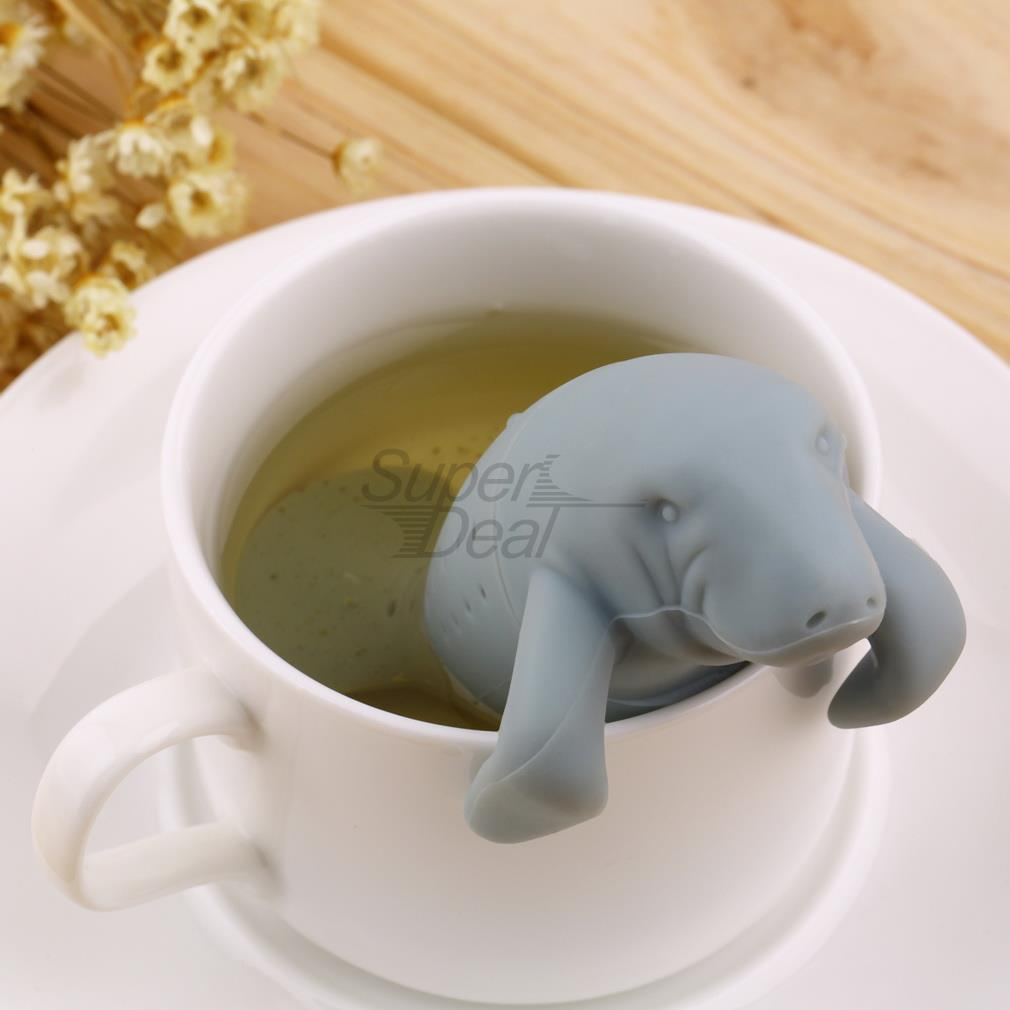 PREUP Manatee Shape Tea Infuser Pure Soft Silicone Rubber Loose Tea Leaf Strainer Herbal Spice Filter Diffuser Kitchen Gadget  PREUP Manatee Shape Tea Infuser Pure Soft Silicone Rubber Loose Tea Leaf Strainer Herbal Spice Filter Diffuser Kitchen Gadget  PREUP Manatee Shape Tea Infuser Pure Soft Silicone Rubber Loose Tea Leaf Strainer Herbal Spice Filter Diffuser Kitchen Gadget  PREUP Manatee Shape Tea Infuser Pure Soft Silicone Rubber Loose Tea Leaf Strainer Herbal Spice Filter Diffuser Kitchen Gadget