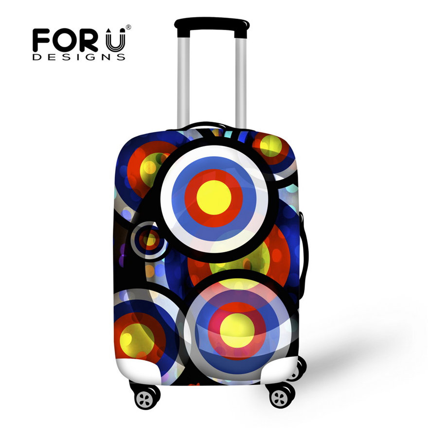 For 18/20/22/24/26/28/30 inch Trolley Baggage Cover Waterproof Luggage Protector Elastic Travel Suitcase Cover Zipper Closure(China (Mainland))