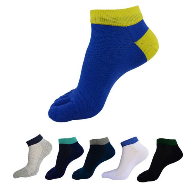 2015 теплое лето зима стиль Unisx женские носки спортивные пять пальцев хлопчатобумажные ...