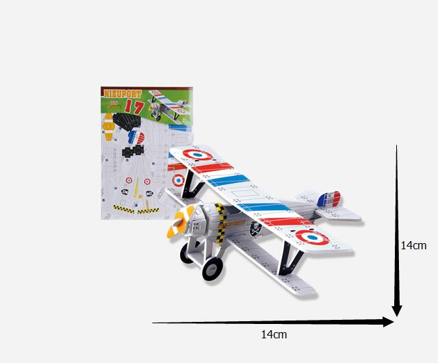 2016 Kids Educational Toys 8 IN 1 The plane DIY 3D Jigsaw Puzzle For Children Adults for gift 3d puzzle toys007-9(China (Mainland))