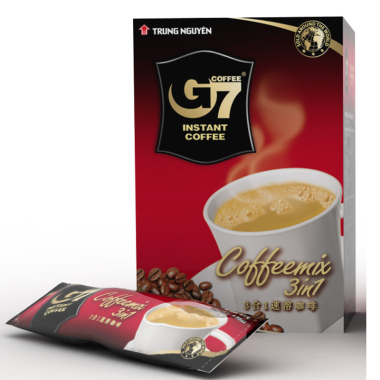 G7 coffee g7 three in instant coffee powder 384g 16 24 bag vietnam coffee