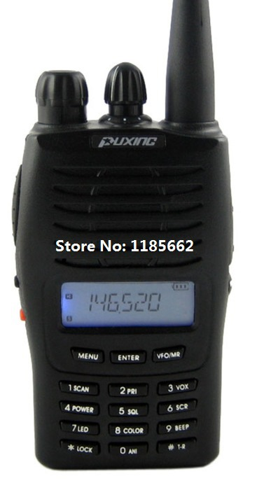Puxing PX-777 vhf 136-174 Mhz two way radio, PX777 128 channels walkie talkie best for ham, hotel, commercial, security use(China (Mainland))