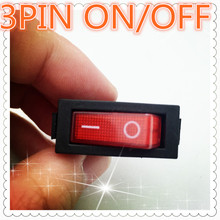 Buy 5pcs G132 RED LED Light 3PIN SPST ON/OFF Boat Rocker Switch 16A/250V 20A/125V Car Dash Dashboard Truck RV ATV Sell Loss for $1.40 in AliExpress store