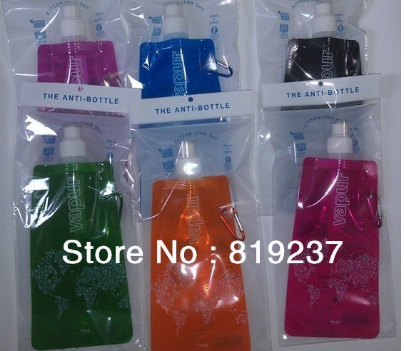Custom Foldable Water Bottle,Wholesale Customized Logo Folding Water Bottle,Personalised Foldable Plastic Water Bottles