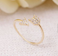 Wholesale 10 Pce/lot Mix Color Kpop Fashion Jewelry Adjustable Midi Ring Cupid One Arrow Ring Free Shipping