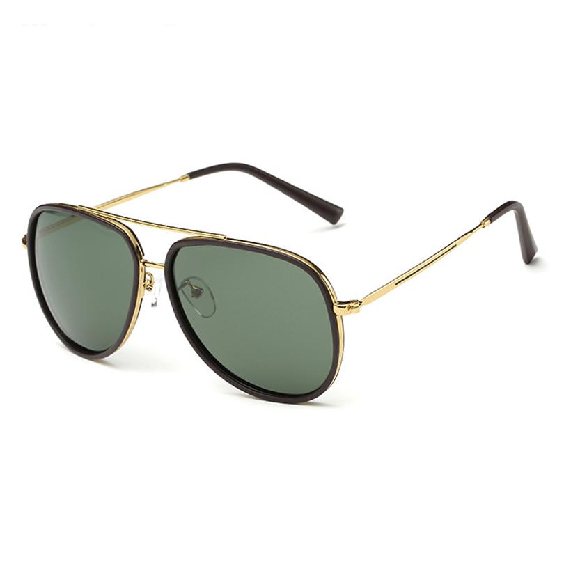 Latest women men Pilot sunglasses uv400 sun 2016 metal ...