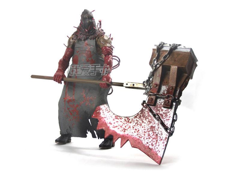 Criação de Zanpakutous Neca-7-polegada-bonecas-brinquedos-clássico-modelo-residente-carrasco-mal-machado-de-açougueiro-para-figuras-de