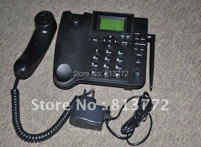 1 SIM card Analog GSM FWP cordless phone(Dual-band,back up battery)