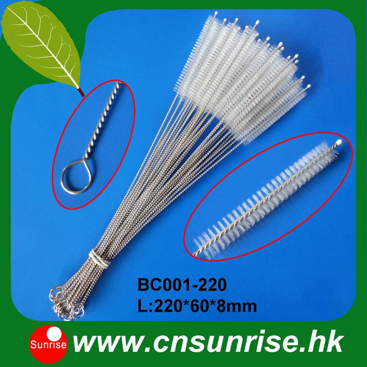 22cm mate straw cleaning brush baby straw brush bombilla brush cleaner(100PCS/lot,BC001-220 )(China (Mainland))