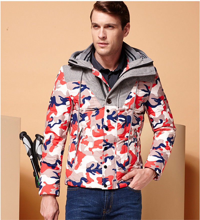 2015 Free Shipping Brand Fashion Parka Regular Winter Coat Men s Outerwear Down Jacket