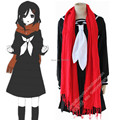 Anime Cosplay Kagerou Project MekakuCity Actors Cosplay Costume Tateyama Ayano school Uniform halloween costumes for women