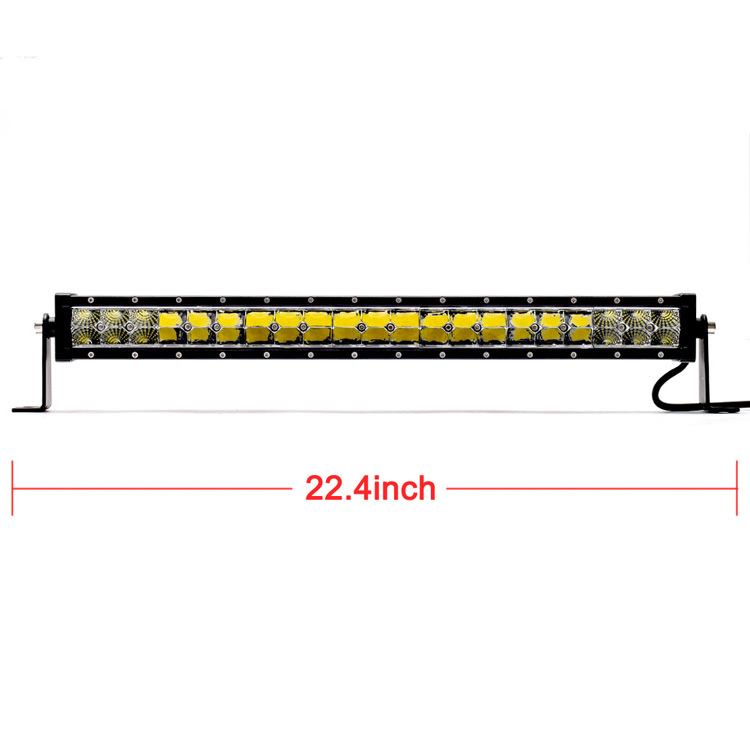 2015 hot sale 20 22inch led light bar offroad SUV SPOT FLOOD COMBO BEAM 12v 24v
