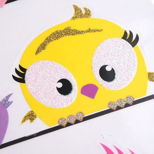 Burbank DIY Adhesive Vinyl Wall Sticker Decorative Wall Decals Home Wallpaper House Interior Decor - Cartoon Birds Theme HDS-16(China (Mainland))