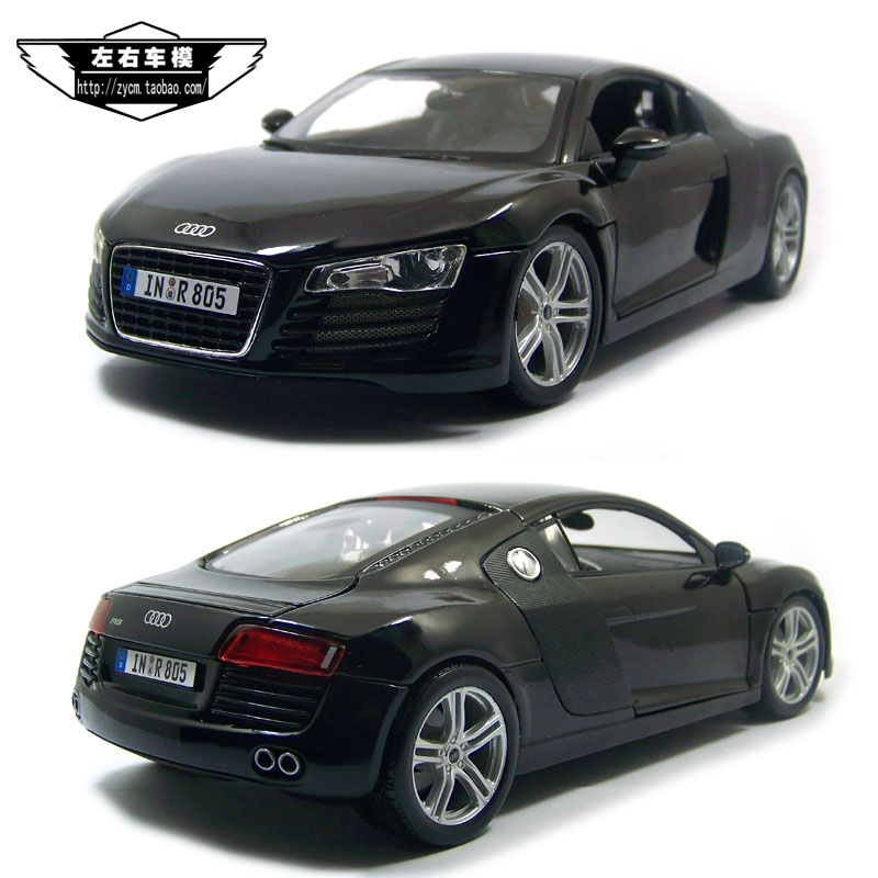 Brand New MAISTO 1/18 Scale Car Model Toys Germany AUDI R8 Diecast Metal Model Toy For Collection/Gift/Decoration(China (Mainland))