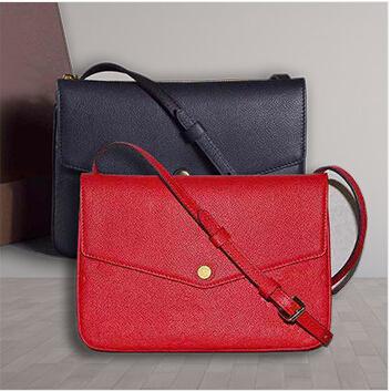 2015 new fashion women Messenger Bag TWINSET M50258 genuine Monogram empreinte leather shoulder bag M50259(China (Mainland))