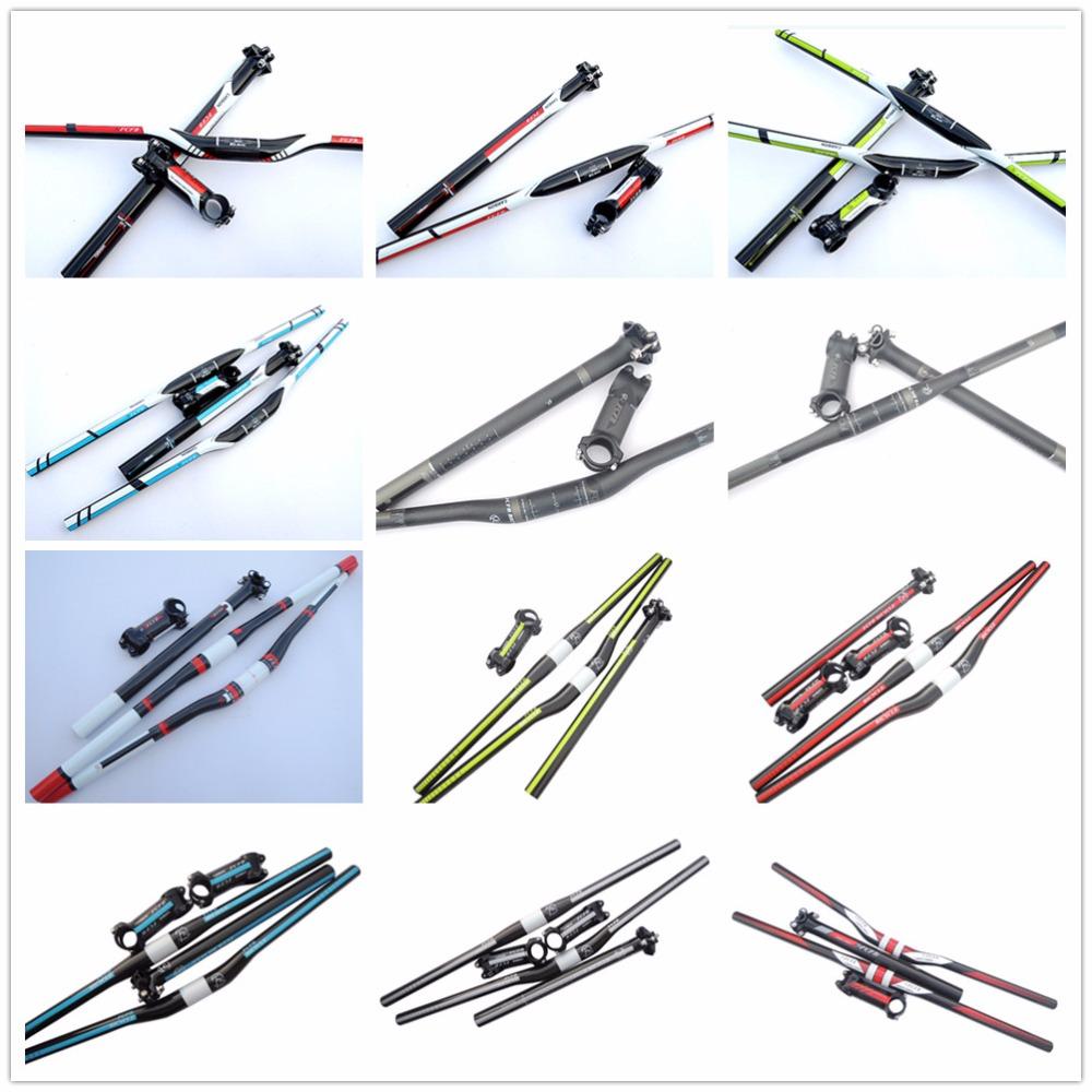 fast shipping sale hot 2015 FCFB red carbon handlebar set mtb bike handlebar + seatpost + stem + 1 lot higher caps bike parts(China (Mainland))